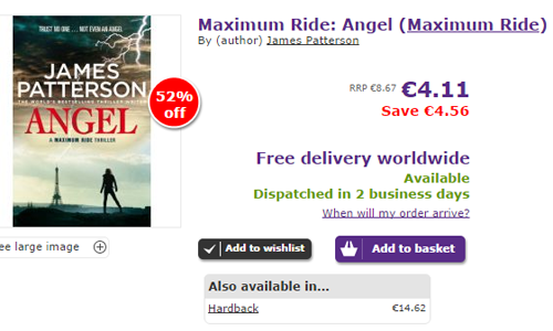 bargain-do-dia-maximum-ride-angel