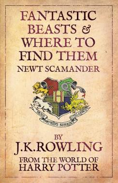 Fantastic Beasts and Where To Find Them (paperback)